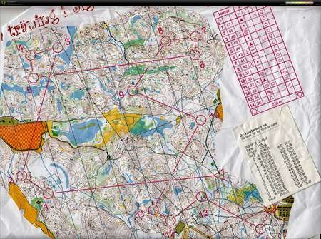 April 10th 2018 Orienteering Map From Stefan Lund