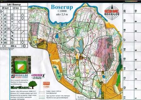 O Traening August 17th 2019 Orienteering Map From Janne Brunstedt
