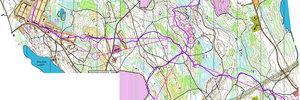 Map: 14. mit SNO an der Jukola