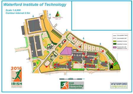 Wit Main Campus Irish Orienteering Championships Sprint Pre