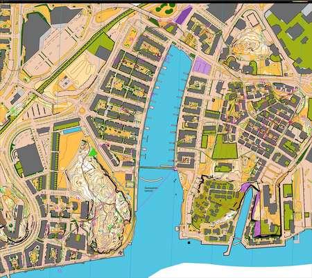 Sprintlager Goteborg Pass Th  Orienteering Map From Martin Regborn
