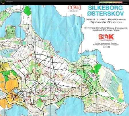 Løvfaldsløbet Silkeborg Østerskov Bane 2 - H45 - October 15th 2017 ...
