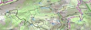 Training on the course of the Trail de la Sainte Baume