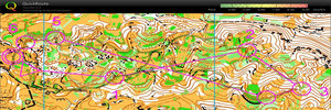 Map 24: Great trainings in GARGANO – excellent idea for WMOC 2012…
