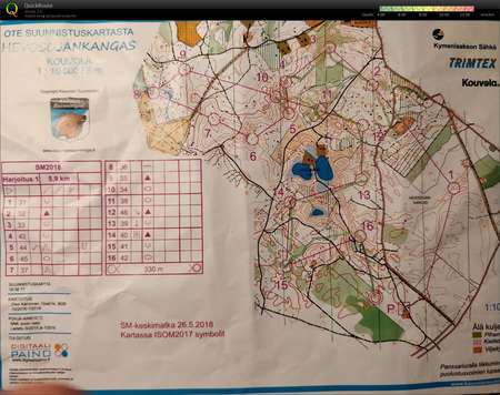 Kouvola leiri 5 April 29th 2018 Orienteering Map from Valtteri