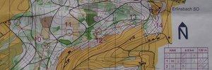 Map: Nacht- OL Schweizermeister in der Kategorie HAK