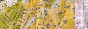 Map: Local scene orienteering in Trondheim awakes