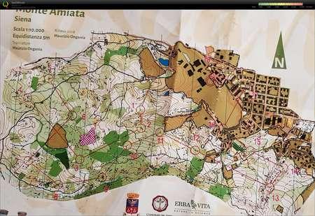 Toscana Orienteering Classic Day 1 November 1st 2018
