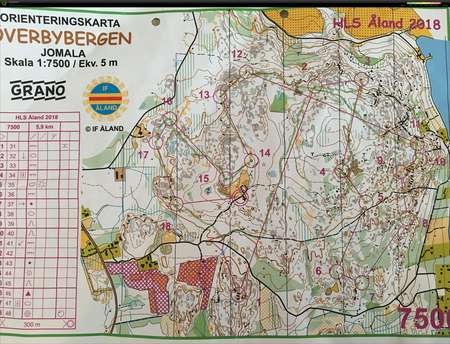 Normirata 1 7500 March 31st 2018 Orienteering Map From Jere Kommio