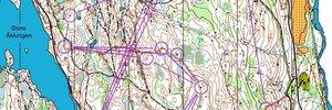 Nordbergs Nattcup #1 - uten kompass