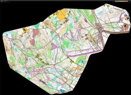 JmsJukola June 16th 2013 Orienteering Map from Kent Ohlsson