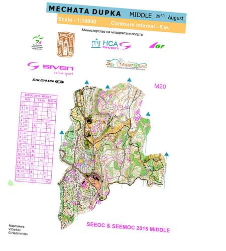 Motikata May 23rd 2019 Orienteering Map From Loggator