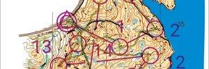 Test av usynfart kart på Åseli