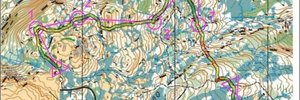 Map 3: Gråkallen  - Truly the last week of 2009 - Trondheim