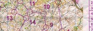 Map: Wettkämpfe am Laufmeter