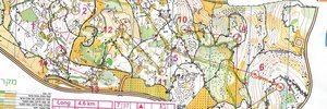 Map 2: What the sport of orienteering is all about