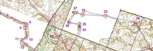Map: Weekend`s training camp