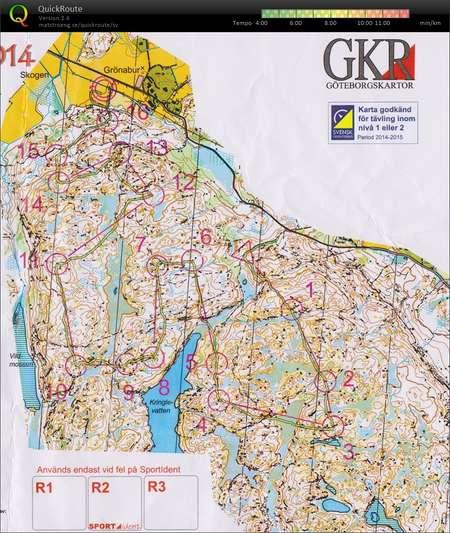 Goteborg O Meeting Etapp 1 Om8 August 22nd 2014