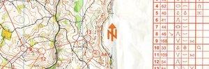 Map 4: 10Mila Vorbereitung, WOC Vorbereitung und Postas Cup