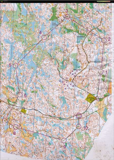 Skane Mane 16 March 14th 2019 Orienteering Map From Stefan Lund