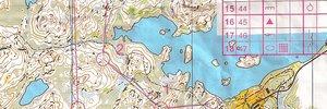 Map:  Trainingsstart in Kristiansand