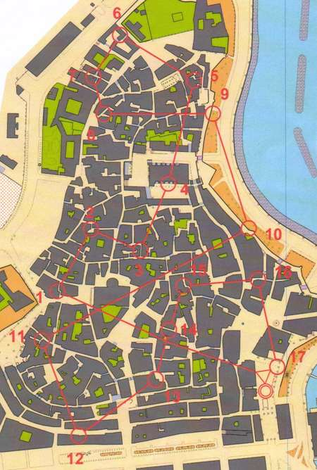 Training Bari Italy March Th Orienteering Map From - Bari map