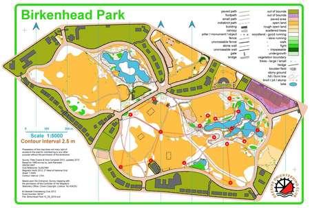 Birkenhead Park SEE Stage 2 - July 22nd 2015 - Orienteering ...