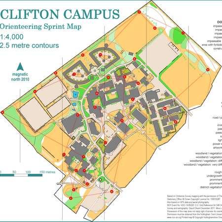 nottingham trent university campus map Trent University Clifton Campus February 8th 2014 nottingham trent university campus map