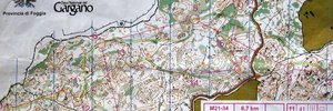 Map 3: Trainings in Puglia: MOC races with maps & results