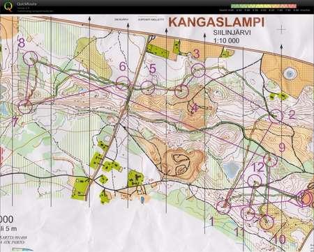 Siiran Kuntorastit June 26th 2014 Orienteering Map From Markus