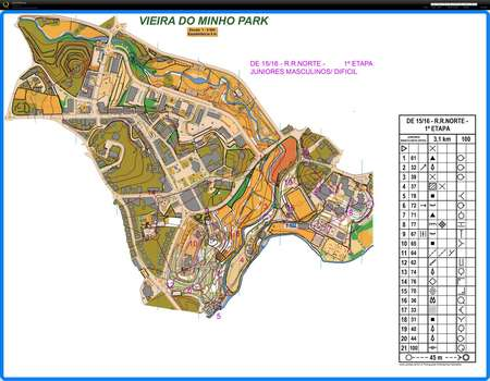 9º Torneio Com Mapa Etapa 1 January 16th 2016 Orienteering