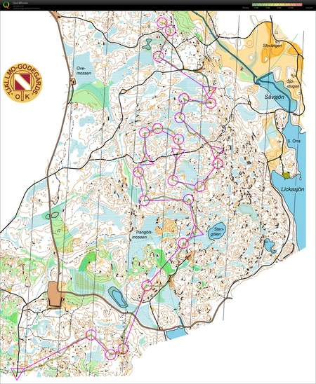 O ints December 13th 2015 Orienteering Map from Niklas Olofsson