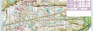 Map 2: Vergebene Chancen bei der WM in Trondheim