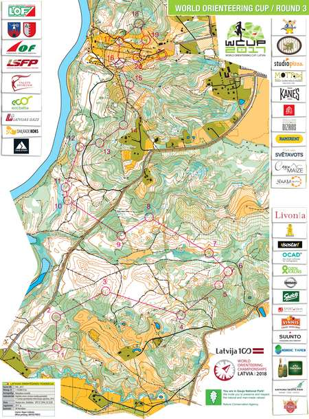 World cup latvia middle women august 25th 2017 orienteering world cup latvia middle women august 25th 2017 orienteering map from gpsseuranta gumiabroncs Image collections