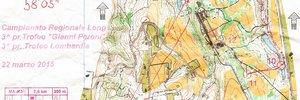 Map: Orienteering e fango ai Boschi di Carrega (PR)