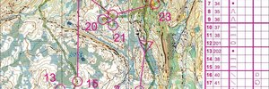 Map 2: Vassfjellet  - Truly the last week of 2009 - Trondheim