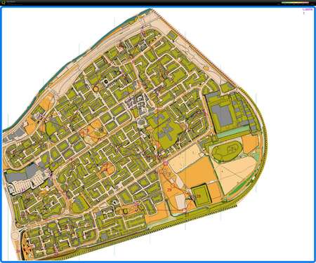 Castle Vale Urban Event  November 10th 2012  Orienteering Map
