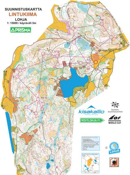 World Cup Finland 2017: Map and Results | World of O News