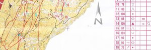 Map: Long italian championship (WRE) in Val Badia