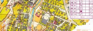 Map: Suunto Sprint Race Tour a Castelvetro di Modena.