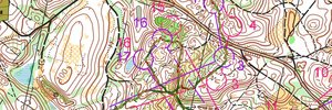 WOC 2017 Middle trial