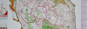 Map: 4. und 7. an der WOC!