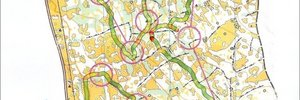 Map 2: National squad training camp- middle distance training