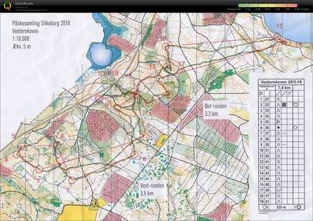 Påskesamling Silkeborg #5 - March 28th 2018 - Orienteering ...