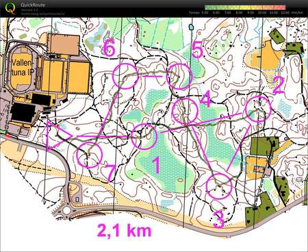 Kort Ol Bana August 6th 2017 Orienteering Map From Simon Schuster