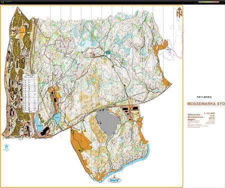 kart over mossemarka Trening på kart   November 2nd 2014   Orienteering Map from Odd  kart over mossemarka