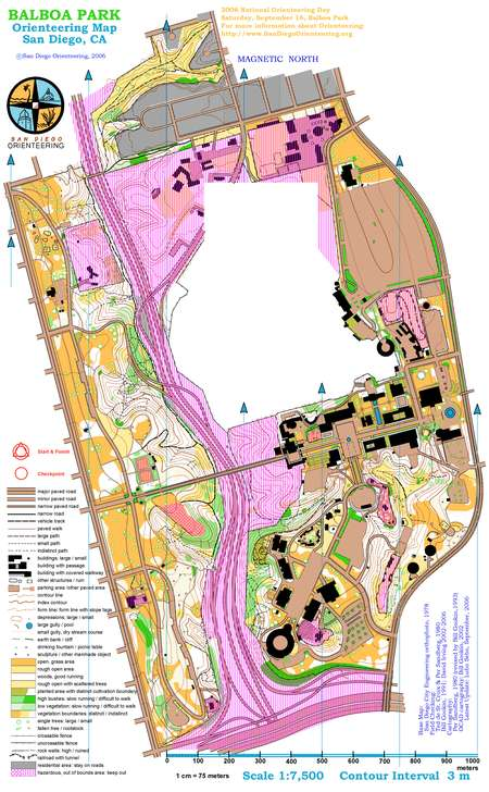 Balboa Park Score-O - March 3rd 2007 - Orienteering Map from ... on rockridge map, carlsbad map, prado park lake map, la jolla cove map, vondelpark map, glen park ca map, seaworld map, huntington library map, old mission dam map, golden gate national recreation area map, north park map, mission trails regional park map, panama location on world map, carmel mountain ranch map, south park map, lake balboa map, san diego map, presidio park map, amelia earhart park map, petco park map,