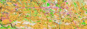Map 27: Great trainings in GARGANO – excellent idea for WMOC 2012…