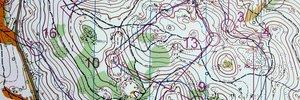 Map: WOC middle distance qualification