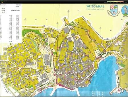 Croatia Open Stage 2 Open Long July 28th 2015 Orienteering